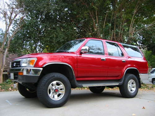 pic of my 39 94 with new used wheels toyota 4runner forum largest 4runner forum. Black Bedroom Furniture Sets. Home Design Ideas