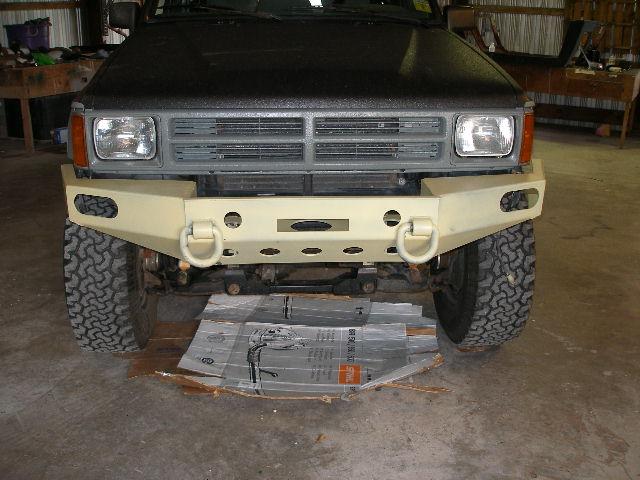 Attached bumper