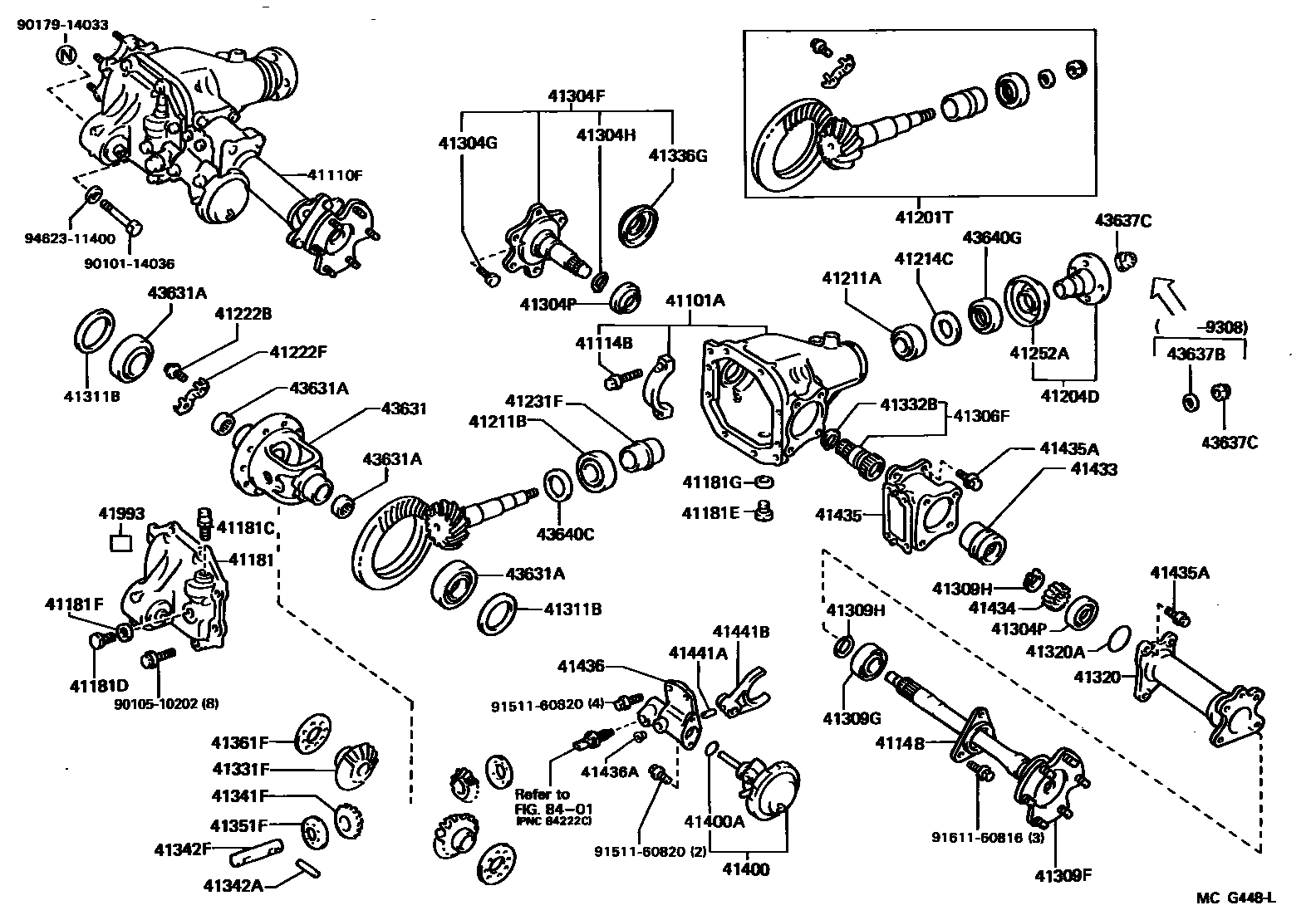 4runner Parts Diagram Great Design Of Wiring 2007 Tundra Engine 2006 Toyota Front Auto 2001 2004