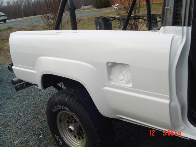 1994 toyota pickup fiberglass bed