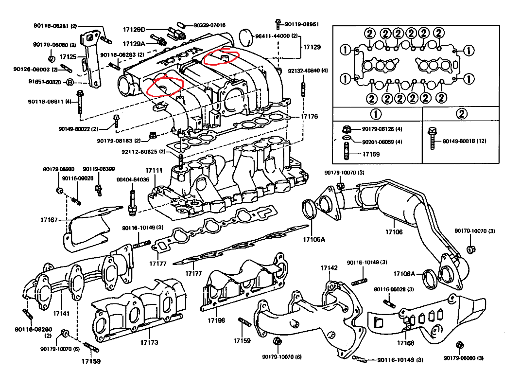 toyota 4runner intake manifold diagram great installation of Toyota T100 PreRunner intake manifold bolt question toyota 4runner forum largest rh toyota 4runner diagram 1997 toyota rav4 2004 toyota 4runner stock bumper