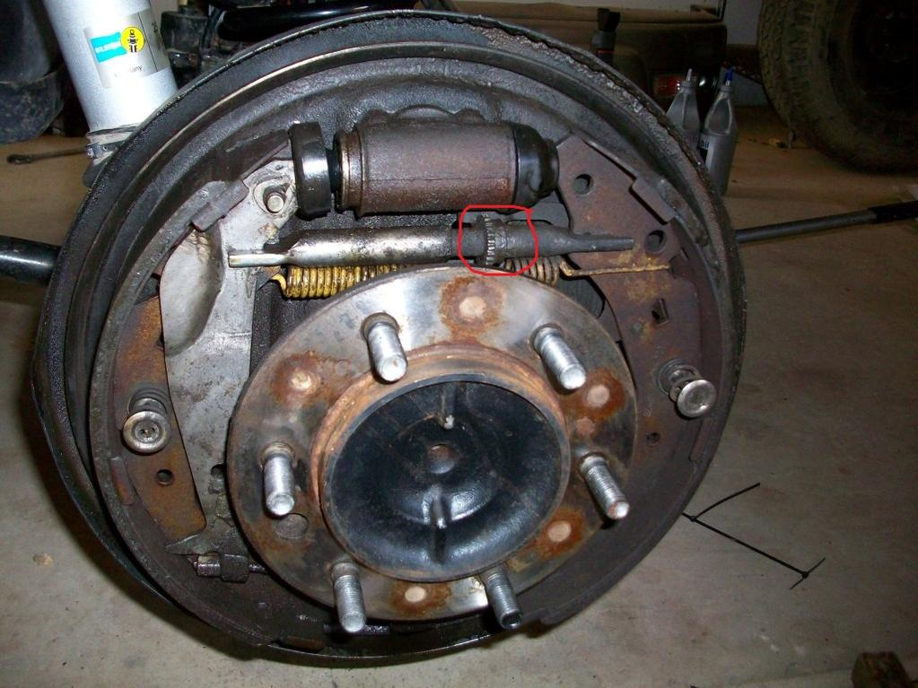 how to change rear drum brakes