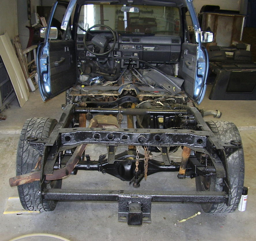 Toyota 4runner Frame