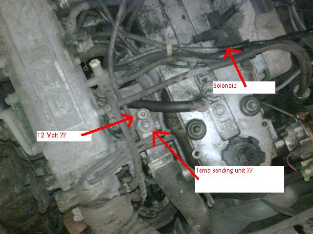 toyota 22re coolant temperature sensor location  toyota