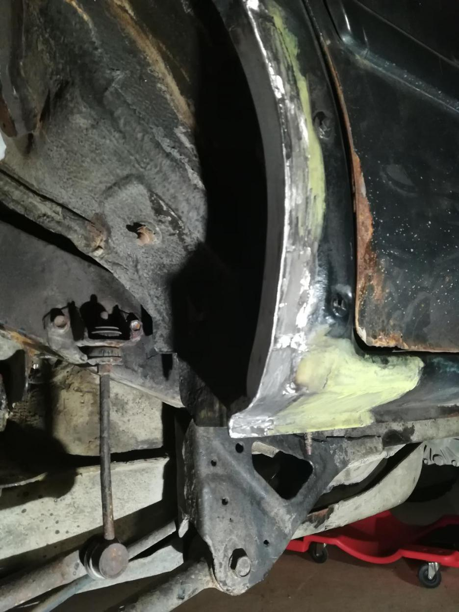 4R from North, Rust Repairs Done.  Parts assemble time.-12-jpg