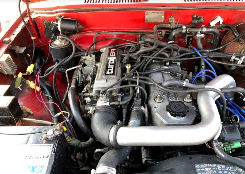 Finally-86 Turbo on the road!-engine-jpg