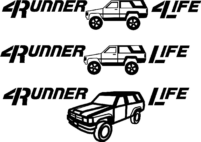 Stickers Page 2 Toyota 4runner Forum Largest 4runner