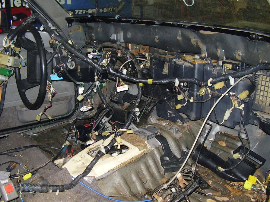 1986 extra cab the back to the future project begins toyota pickup wiring 1 jpg 142 9 kb auto