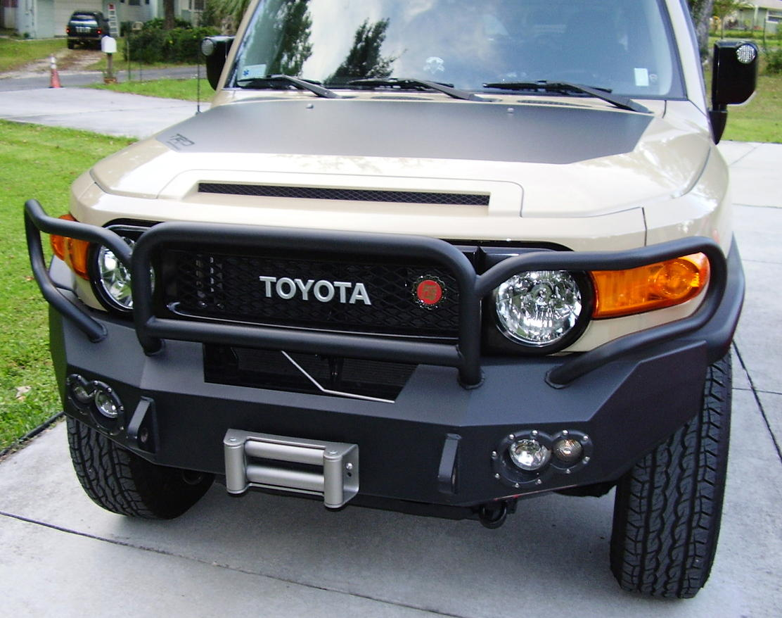 394339 Warn Rock Crawler Front Bumper Toyota 4runner on 79 95 4runner hilux pickup