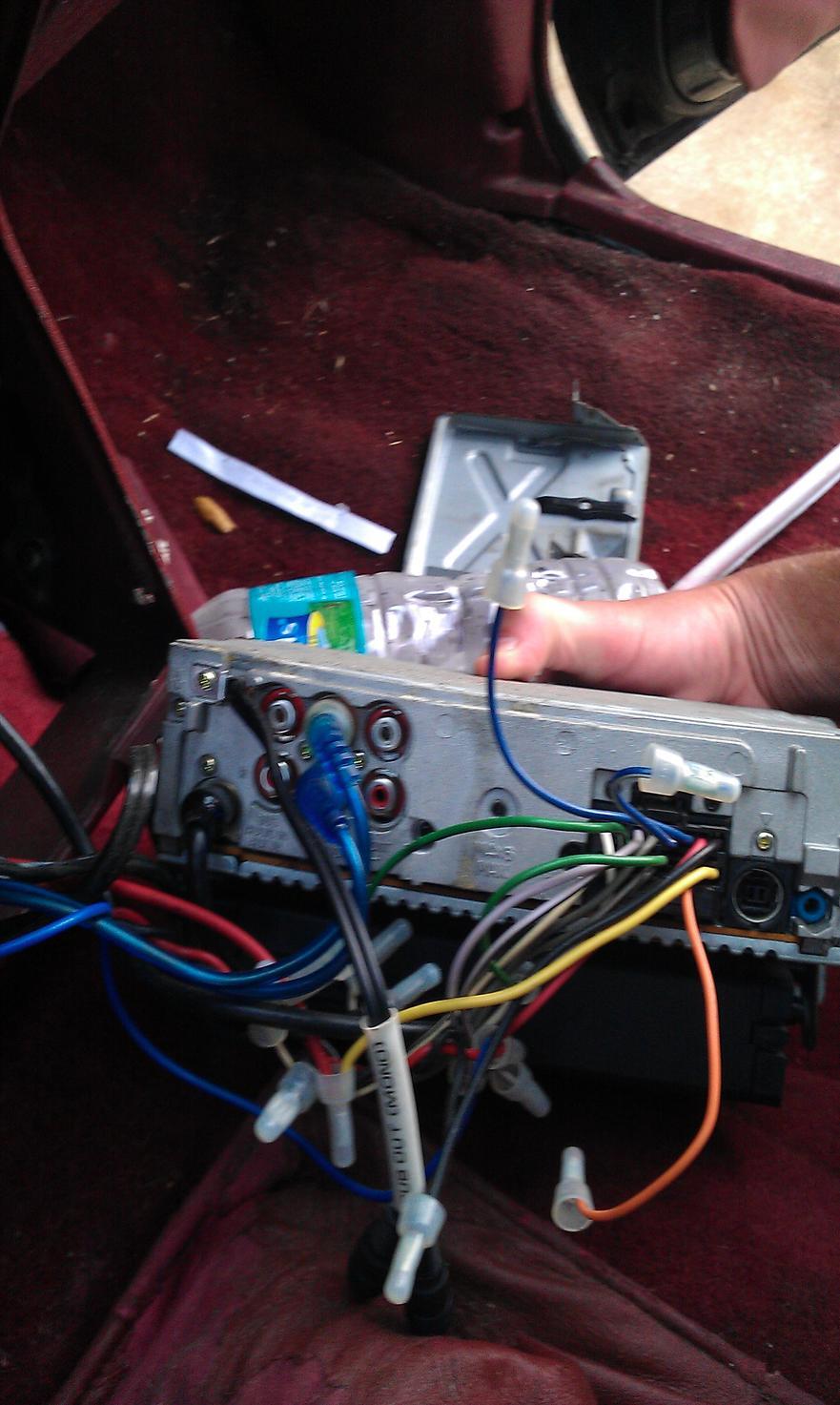 aux port on sony xplod toyota 4runner forum largest 4runner forum attached radi0 jpg 134 1 kb
