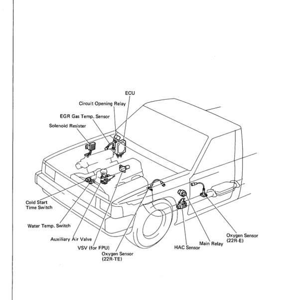 where is the efi main relay located toyota 4runner forum 1997 4Runner Engine Diagram where is the efi main relay located