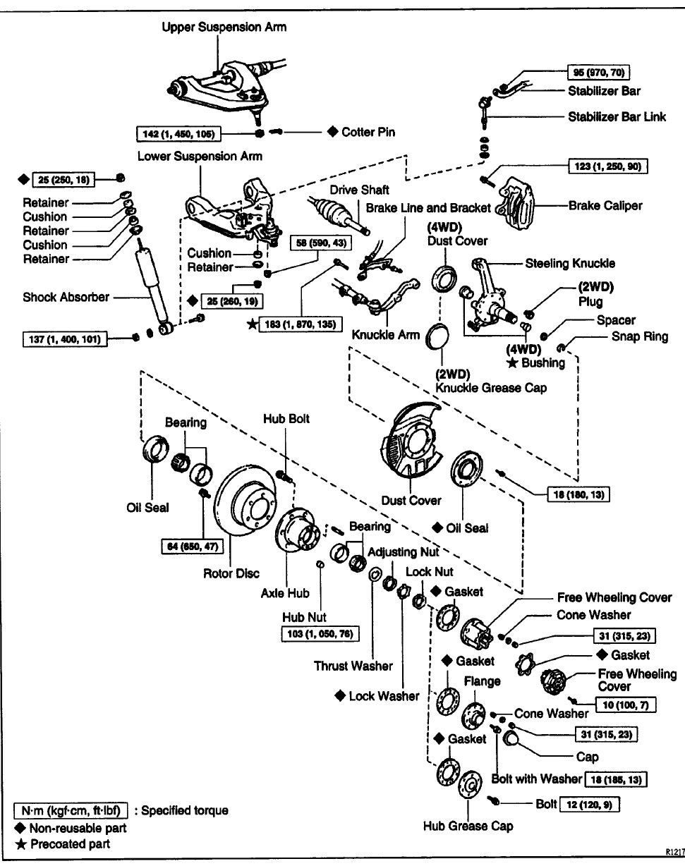 1987 toyota 4runner parts catalog