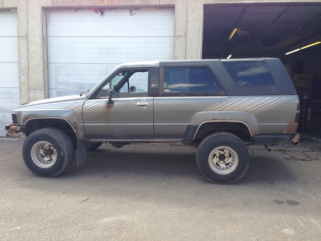 Cartzo's 87 4Runner Slow-moving Build - Page 5 - Toyota ...