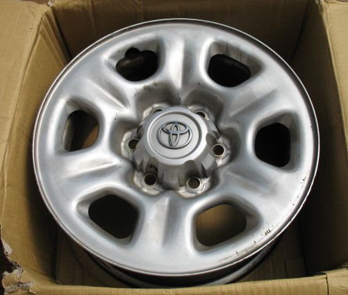 Toyota Knoxville Tn >> Toyota 4runner Or Tundra Oem Steel Wheels - 4 - Toyota ...