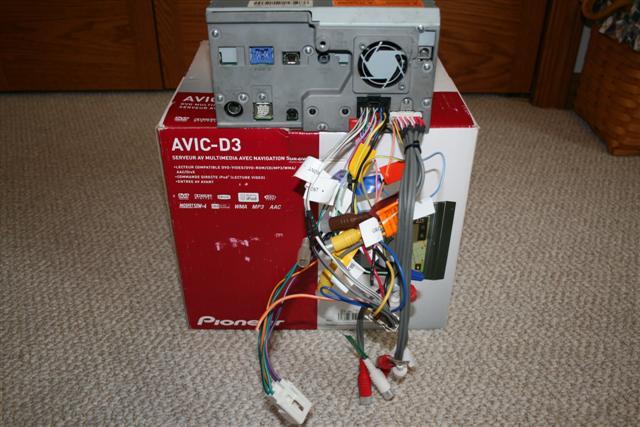 pioneer avic n1 n2 n3 n4 n5 power cord harness pictures