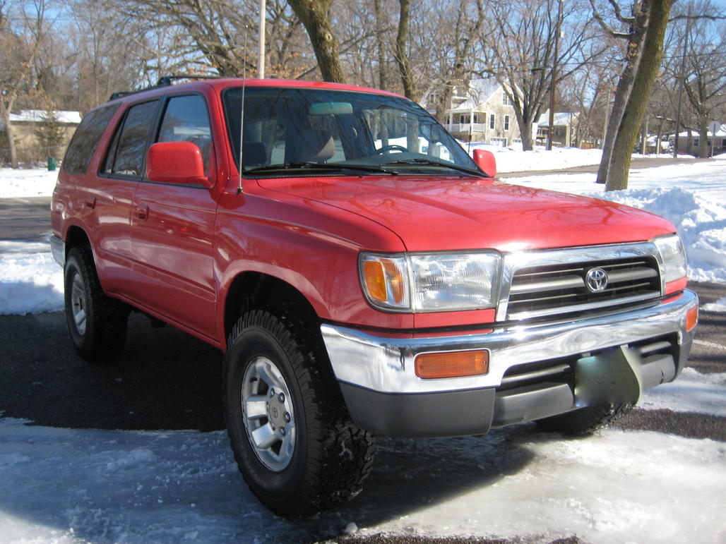 1997 Toyota 4runner Sr5 5 Speed Manual Toyota 4runner