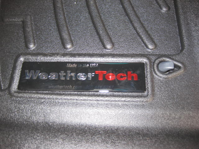F S 4th Gen Weathertech Extreme Duty Front Floor Liners