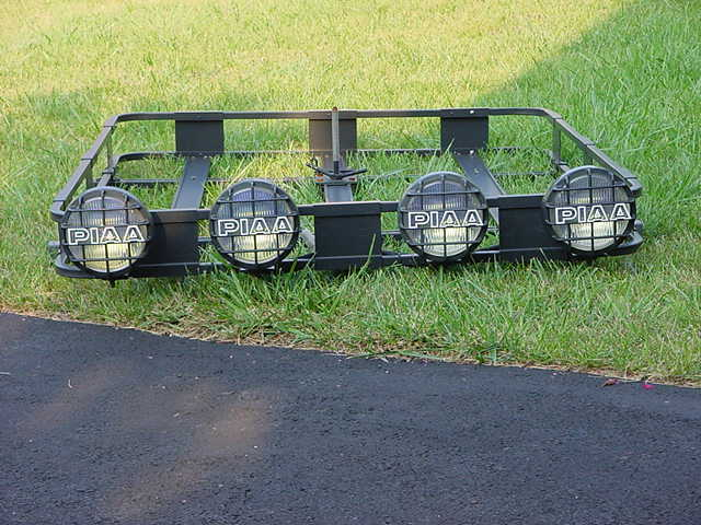 Roof Rack With Offroad Lights