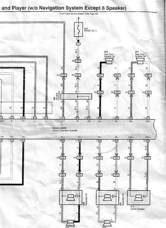 Jbl 10 Spk System Hu Wiring Pinouts
