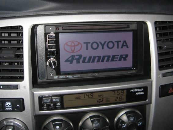 2008 Toyota 4runner Aftermarket Stereo
