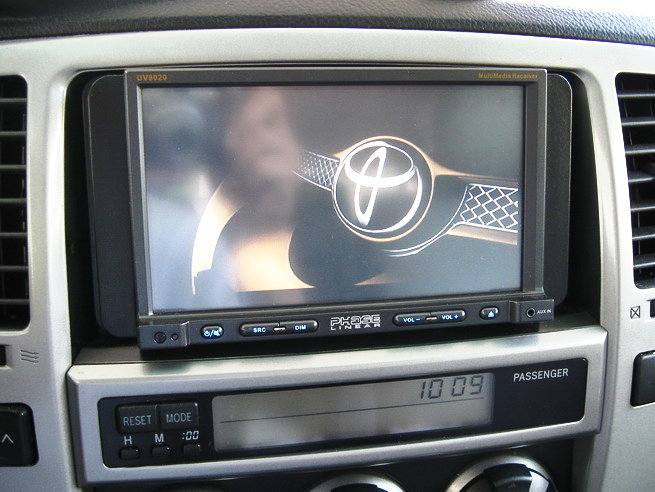 pioneer dvd installed pics toyota 4runner forum. Black Bedroom Furniture Sets. Home Design Ideas