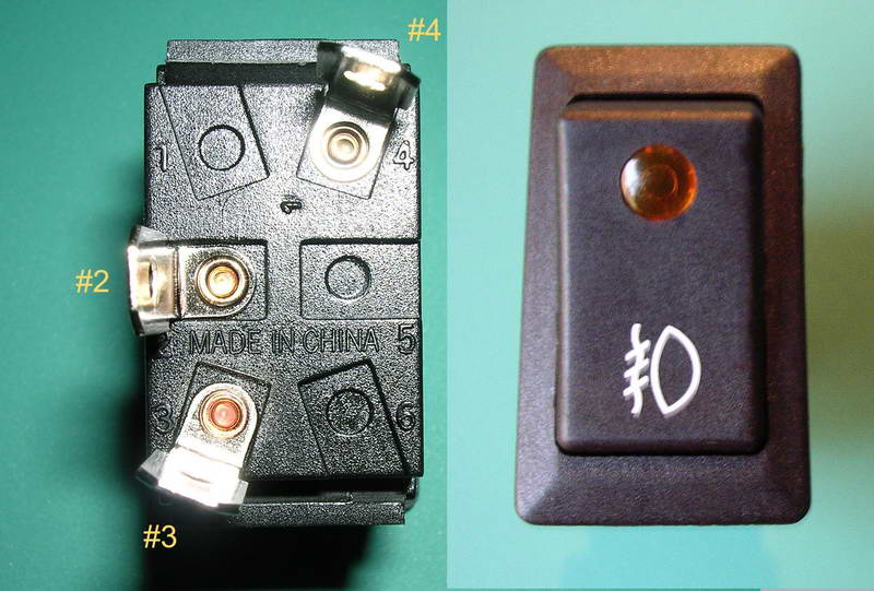 Fog Light Switch connections - Toyota 4Runner Forum - Largest ... on fog light installation diagram, fog light switch toyota, fog light wiring harness, fog light wiring problem, fog lights for bmw 1997, fog light headlight switch wiring,