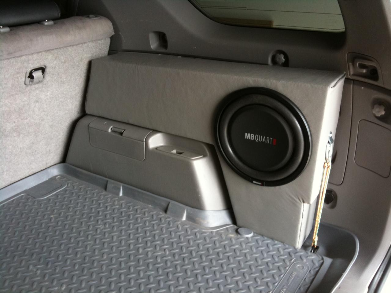 My Stealth Subwoofer Box Toyota 4runner Forum Largest