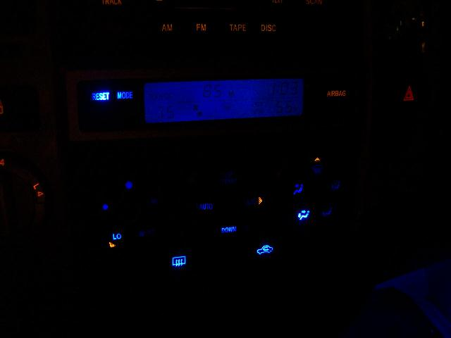 Replace you cars instrument panel lights with LEDs. - Instructables