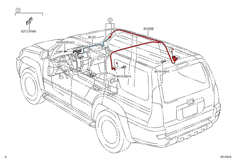 4th gen antenna question - toyota 4runner forum