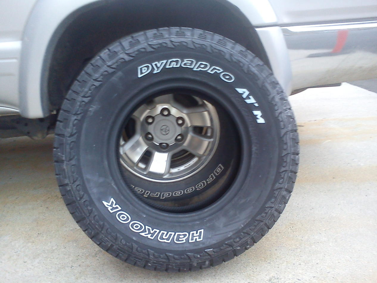 Nitto Terra Grapplers Vs Hankook Dynapro Atm Toyota