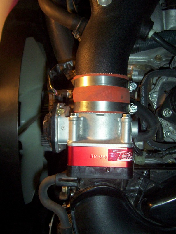 Fan Spacer Cold Air Intake : Cold air intake w throttle spacer toyota runner forum