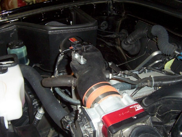 Fan Spacer Cold Air Intake : Cold air intake w throttle spacer page toyota