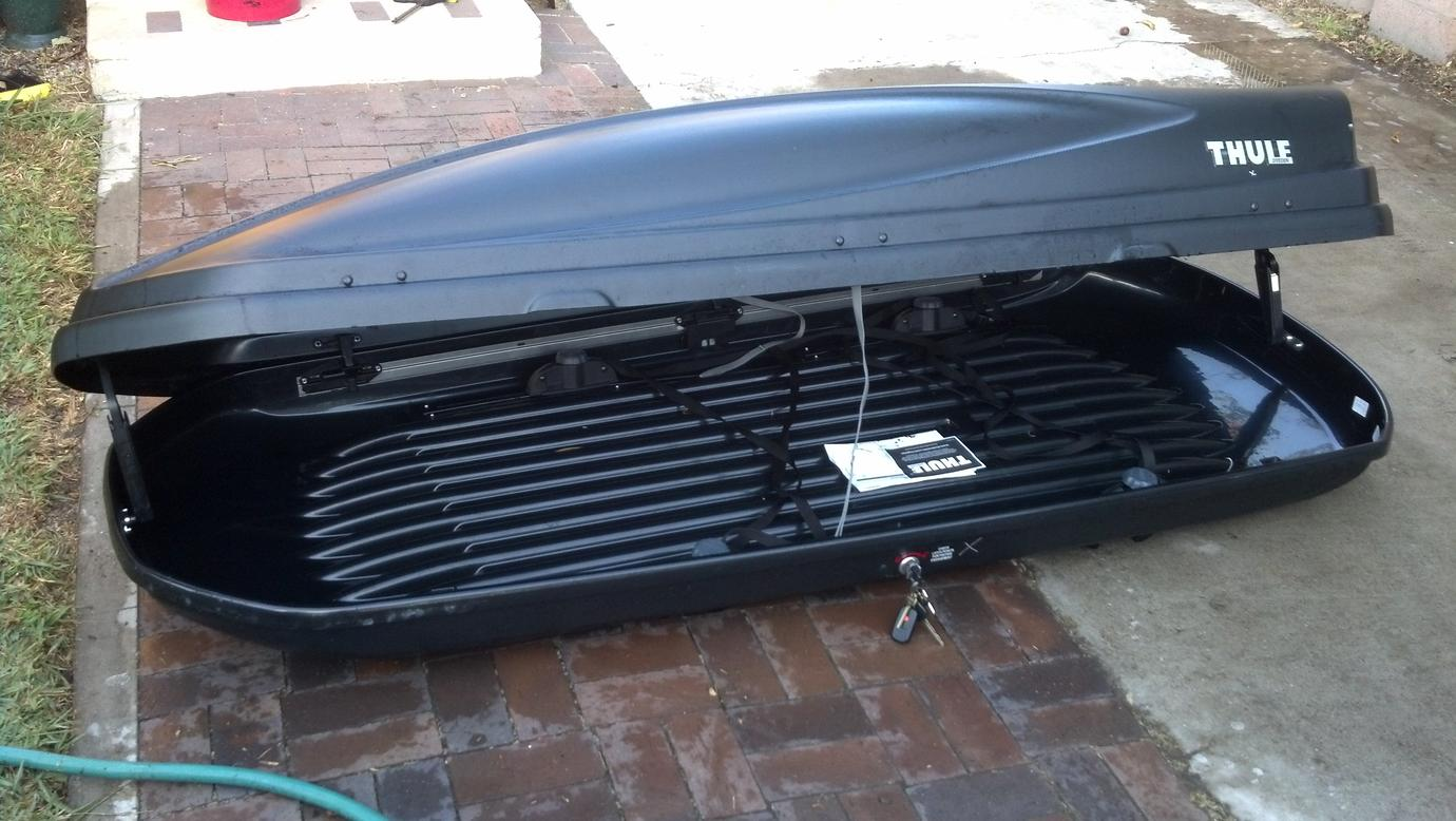 Thule Force Xl >> Fs Thule Force Xl Rooftop Carrier Oc Ca 300obo Toyota