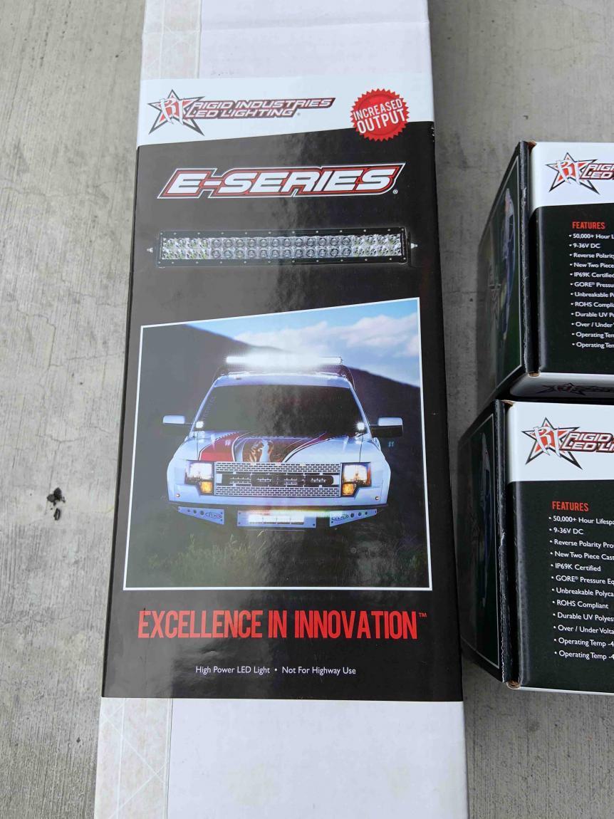 "FS Rigid Industries E-Series 40"" LED Bar Spot/Flood Combo New 00 Los Angeles, CA-40-light-bar-3-jpg"