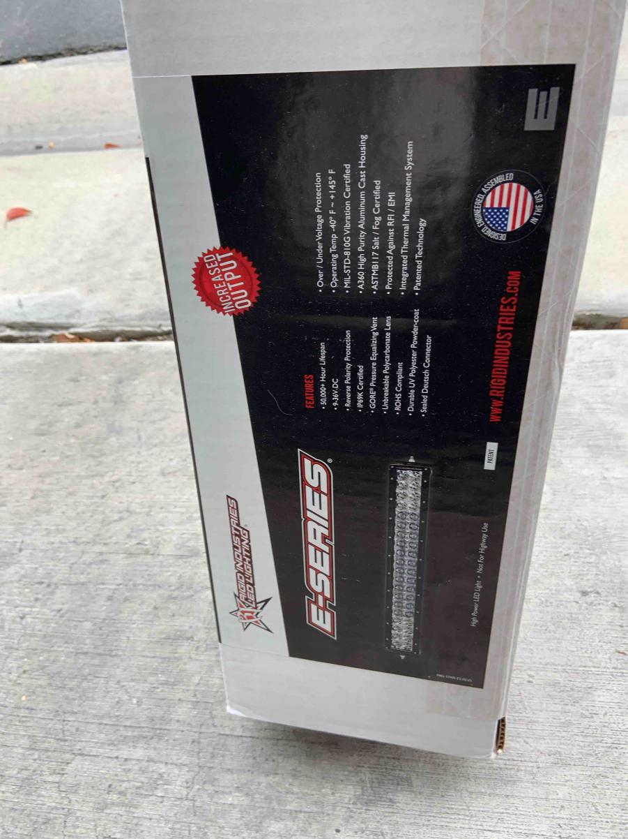 "FS Rigid Industries E-Series 40"" LED Bar Spot/Flood Combo New 00 Los Angeles, CA-40-light-bar-4-jpg"