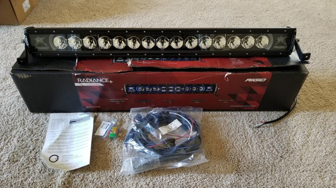 "FS: Rigid Radiance 30"" light bar - Aledo, TX 0-lightbar2-jpg"