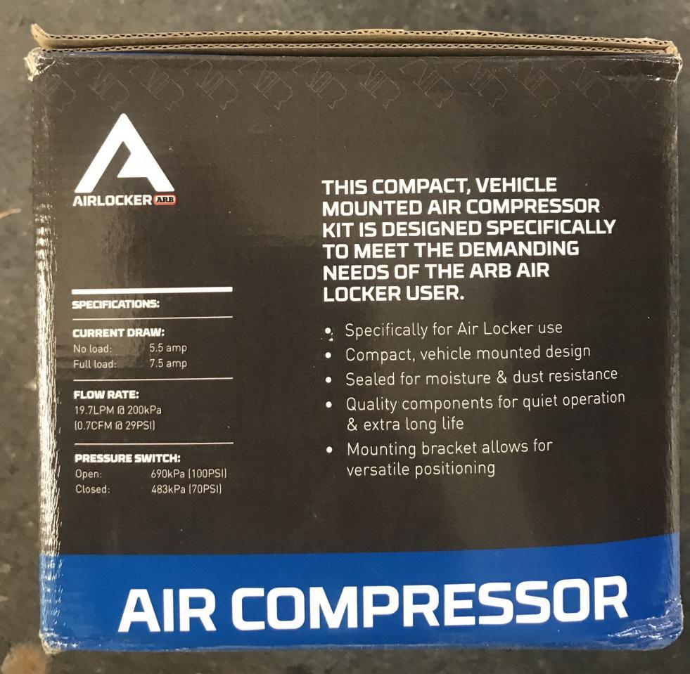 FS: ARB CKSA12 Air Locker Basic Air Compressor Nor Cal-57633038-81d8-4a52-b724-dc32fdfc4979-jpg
