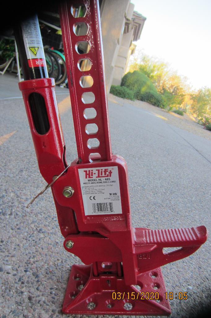 Hi Lift Jack (HL-485) + Accessories - No Longer Available.-hilift-2-jpg