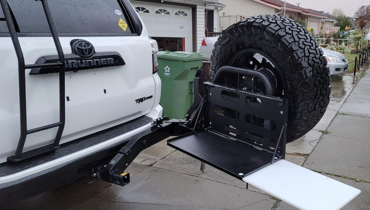 FS: Rigd UltraSwing T4R Tire Carrier 50 - Fremont-capture-jpg