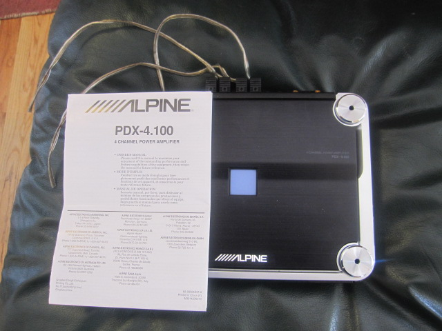 Alpine Pdx 4 100 Amp Like New Toyota 4runner Forum