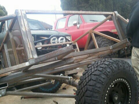 Ultimate Offroad Trailer With 4 Link Suspension And