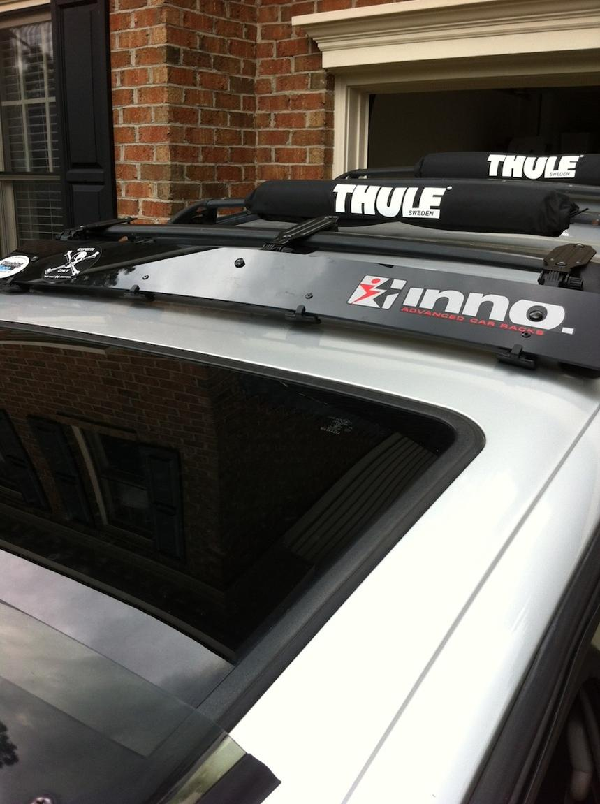 Inno Roof Rack >> Inno Roof Rack Fairing- Factory Rack Compatible - Toyota ...