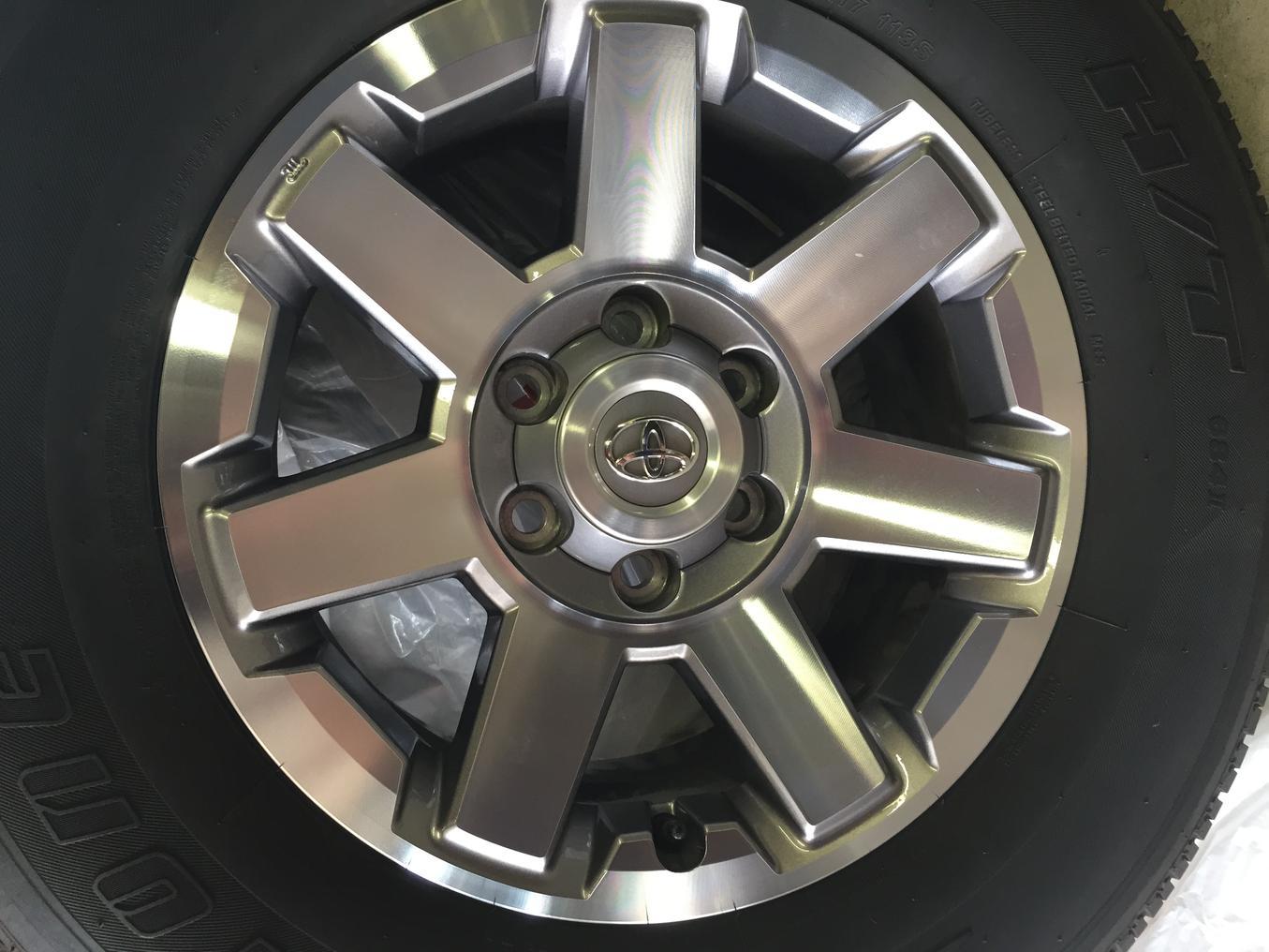 FS: 2014 Trail Edition wheels/tires 265/70/17 No TPMS San ...