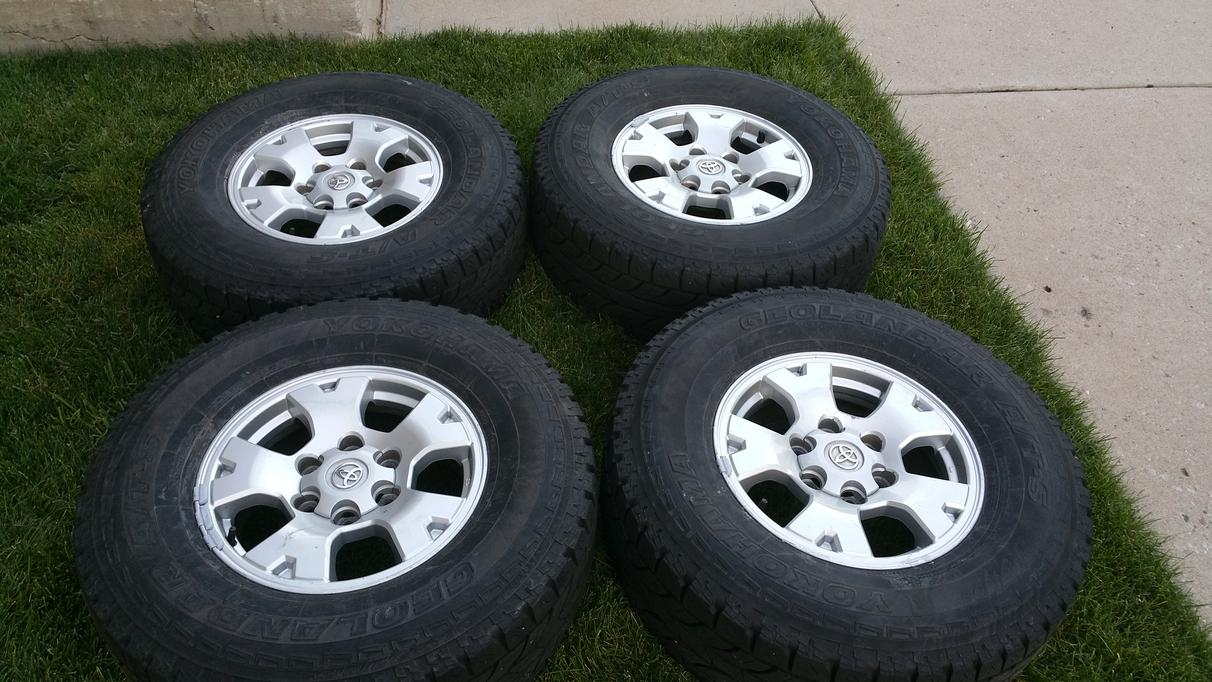 Tacoma Snowflake 16inch Wheels And Tires Denver 375 Toyota 4runner Forum Largest 4runner Forum