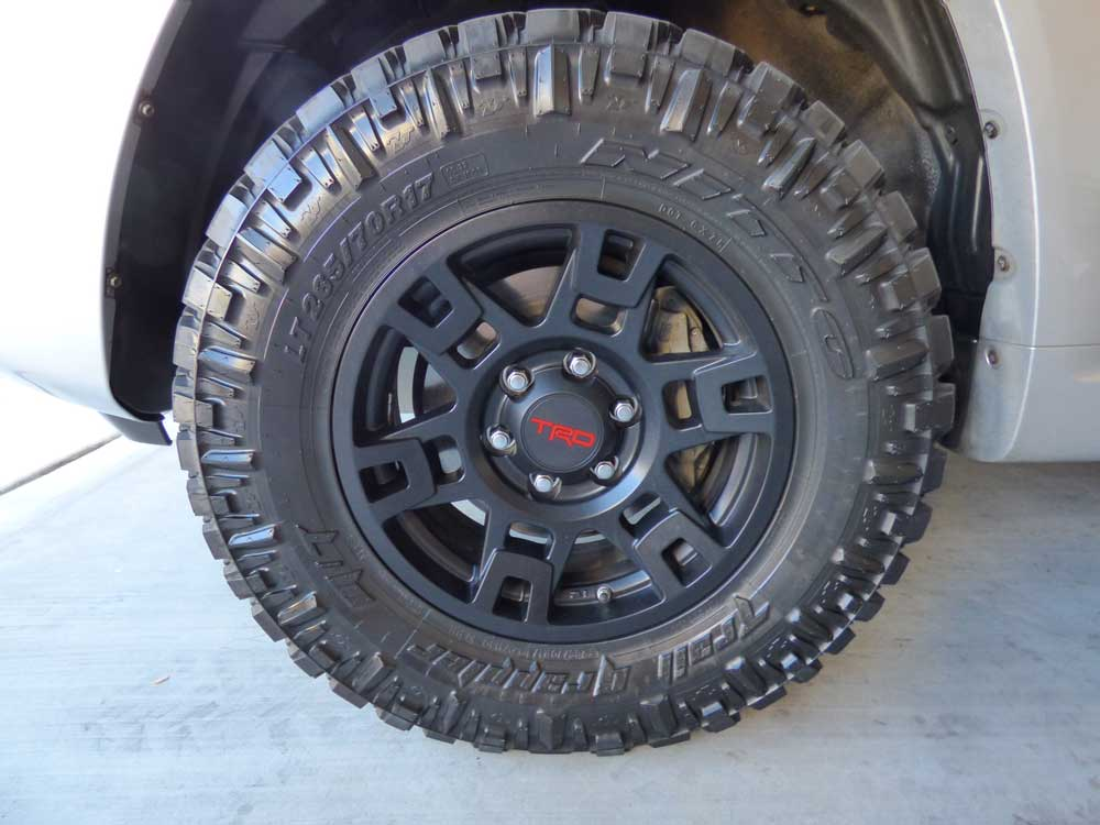 Toyota Trd Wheels Nitto M T Tires Toyota 4runner Forum