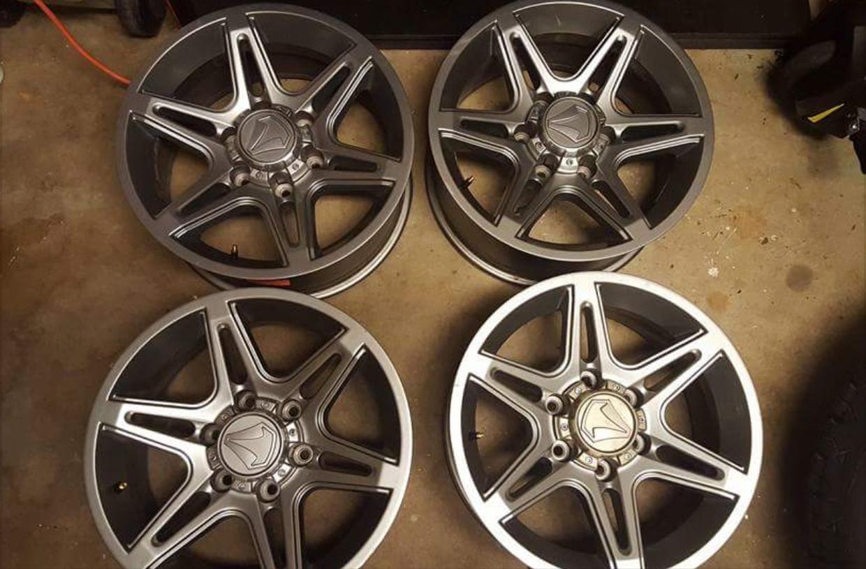 "Toyota Tacoma TSS Wheels 17"" $650 OBO - Toyota 4Runner ..."