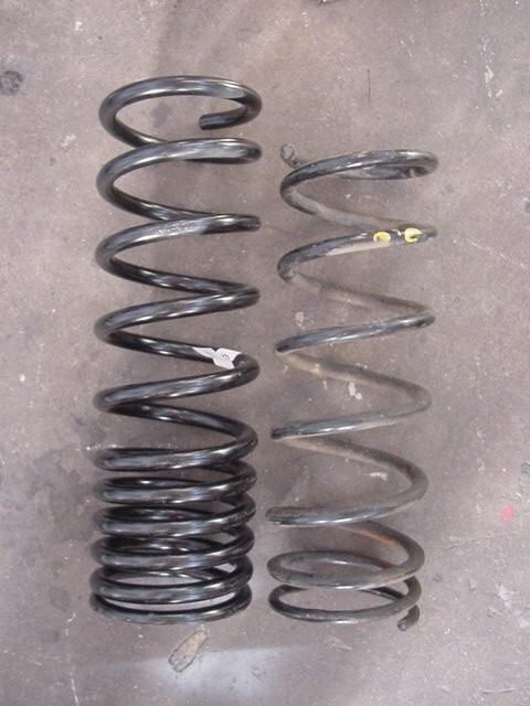 Fs 1999 Tall Rear Coils 3rd Gen Springs Toyota 4runner