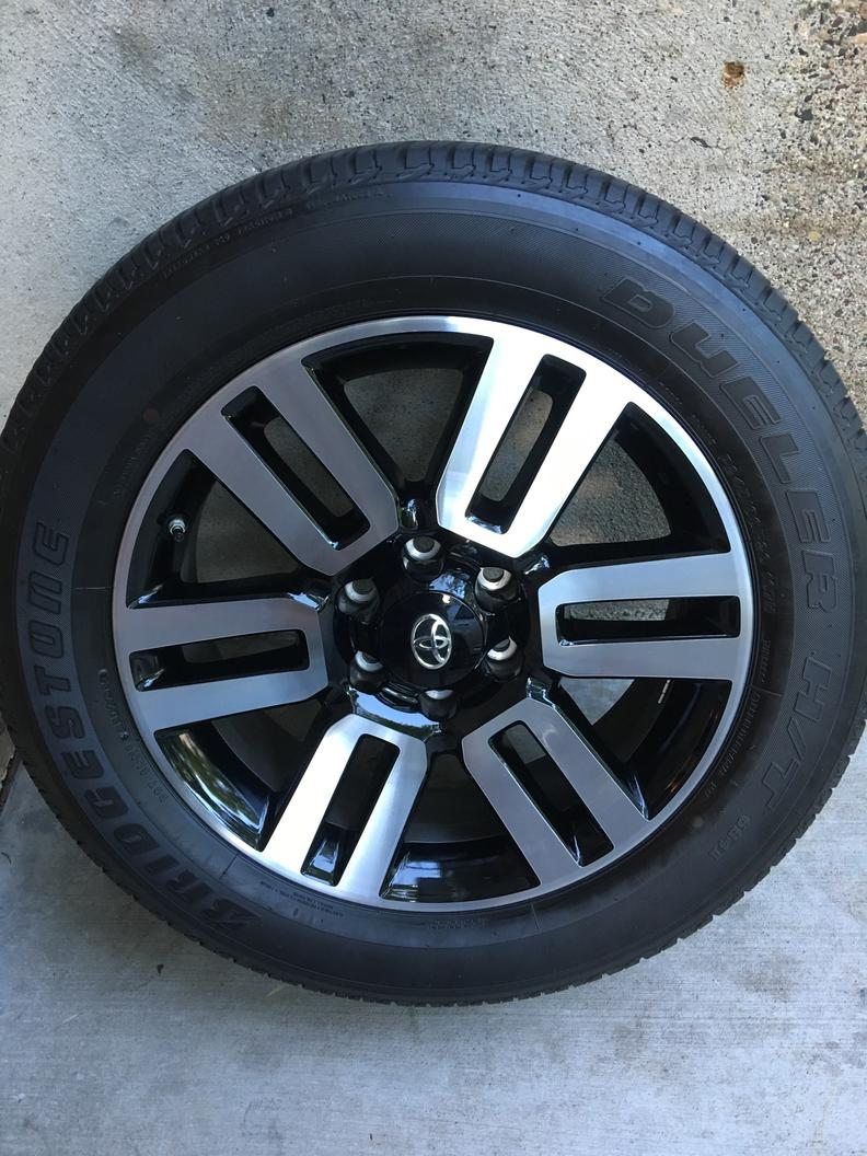 2016 Toyota 4 Runner Limited 20x7 Factory Oem Alloy Wheels