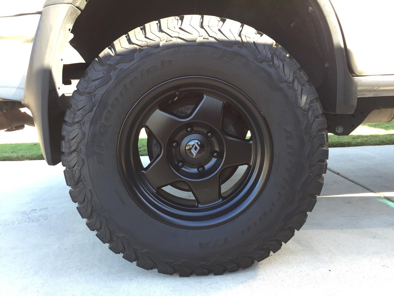 4xSCS F5 17x8 5 wheels Austin, Tx - Toyota 4Runner Forum