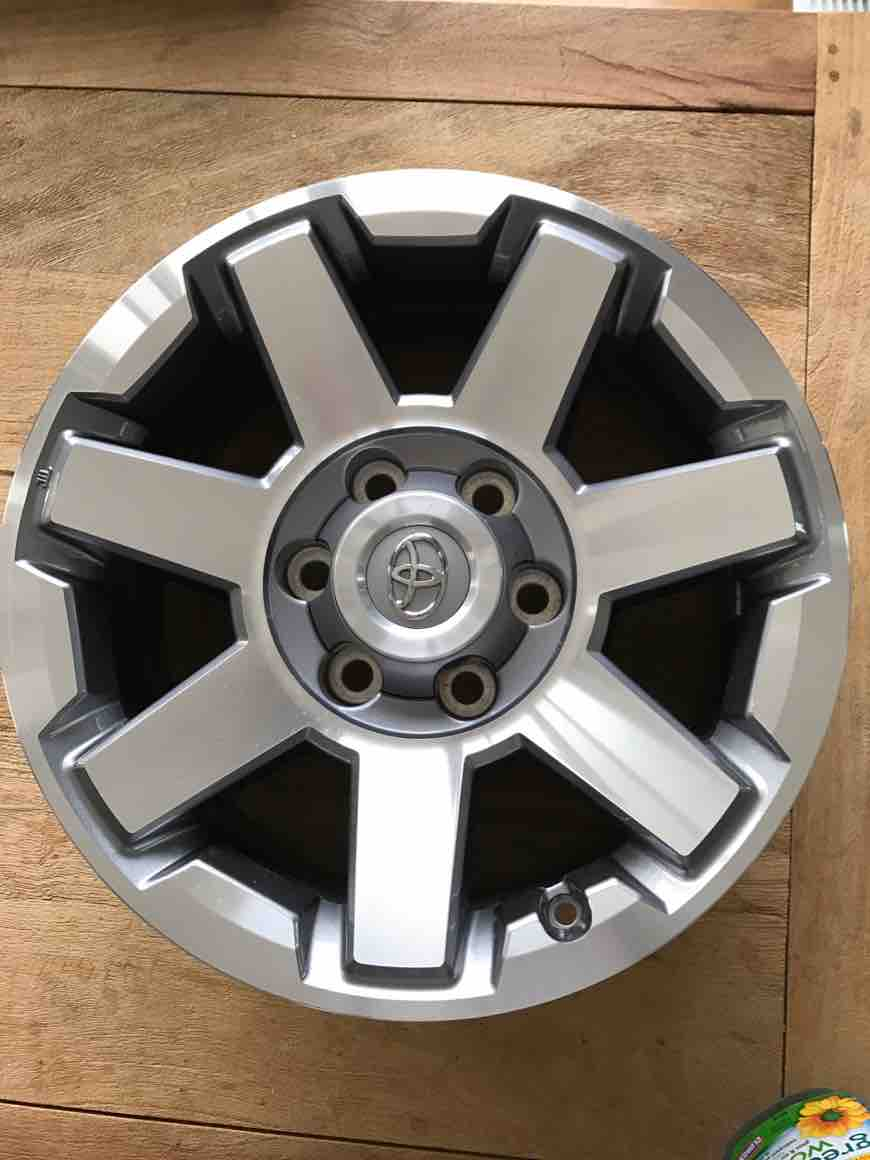 Selling 2015 4runner Trail Factory Package Rims Bumpers